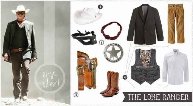 Lone Ranger Halloween costume - This blog shares a few resources for putting your own Lone Ranger costume together