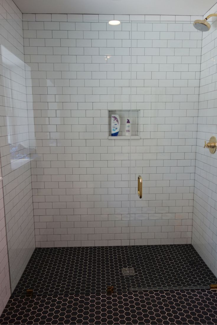 Roll in curbless shower with a frameless glass shower door. Go to the National Association of Home Builders web site and look for contractors with a CAPS designation (this stands for Certified Aging in Place Specialist).