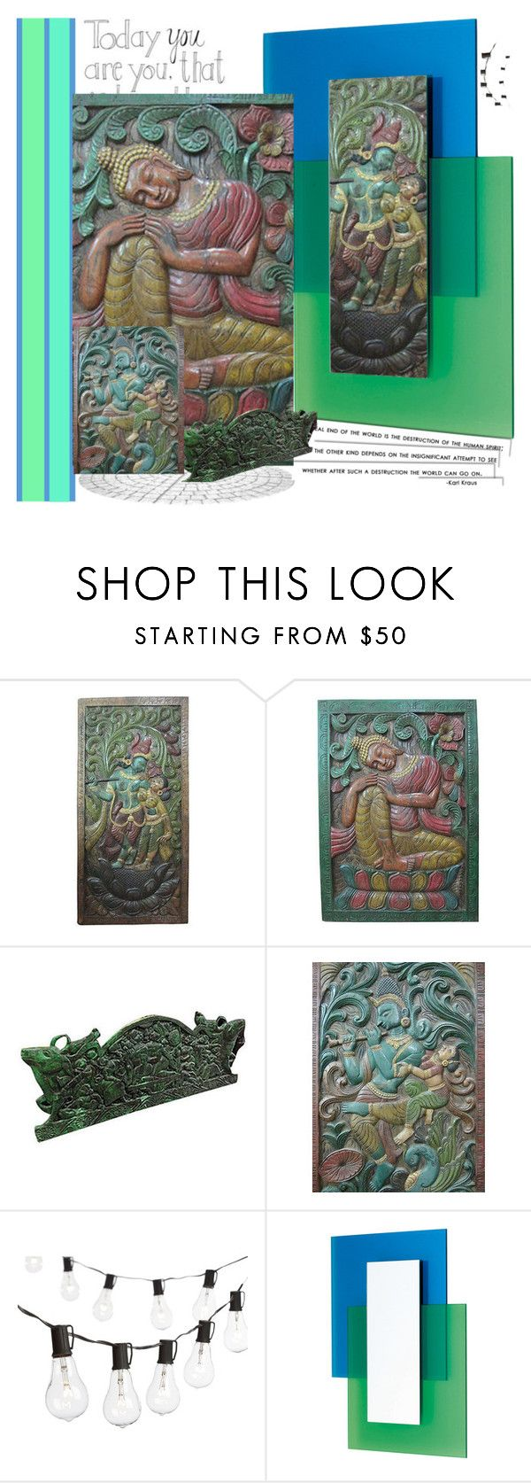 Antique Wall Panels by baydeals on Polyvore featuring interior, interiors, interior design, home, home decor, interior decorating, Crate and Barrel, Glas Italia and vintage  http://stores.ebay.com/mogulgallery/CARVED-DOORS-/_i.html?_fsub=353415319&_sid=3781319&_trksid=p4634.c0.m322