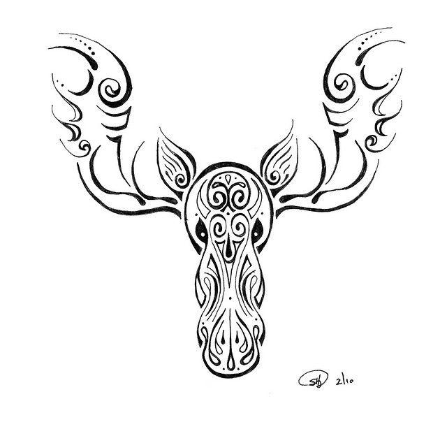Moose Tattoo Designs | moose tattoo | Flickr - Photo Sharing!