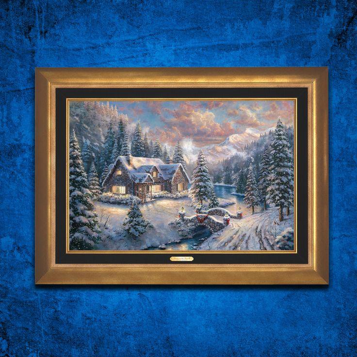 1000 images about thomas zac kinkade on pinterest Home interiors thomas kinkade prints