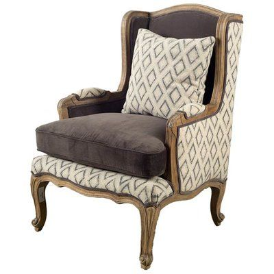 Bungalow Rose Orleans Wingback Chair