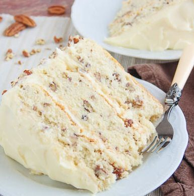 Toasted Butter Pecan Cake: I'm pinning this in the hopes that someone will surprise me with it because I do not bake!