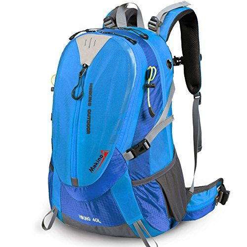 Outdoor mountaineering bags/Travel Backpack/Men and women Backpack-sky blue 40L