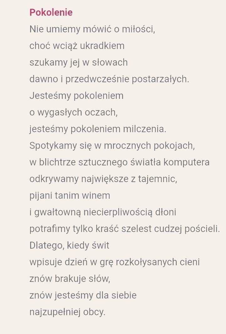 Sławomir Maszewski Poetry