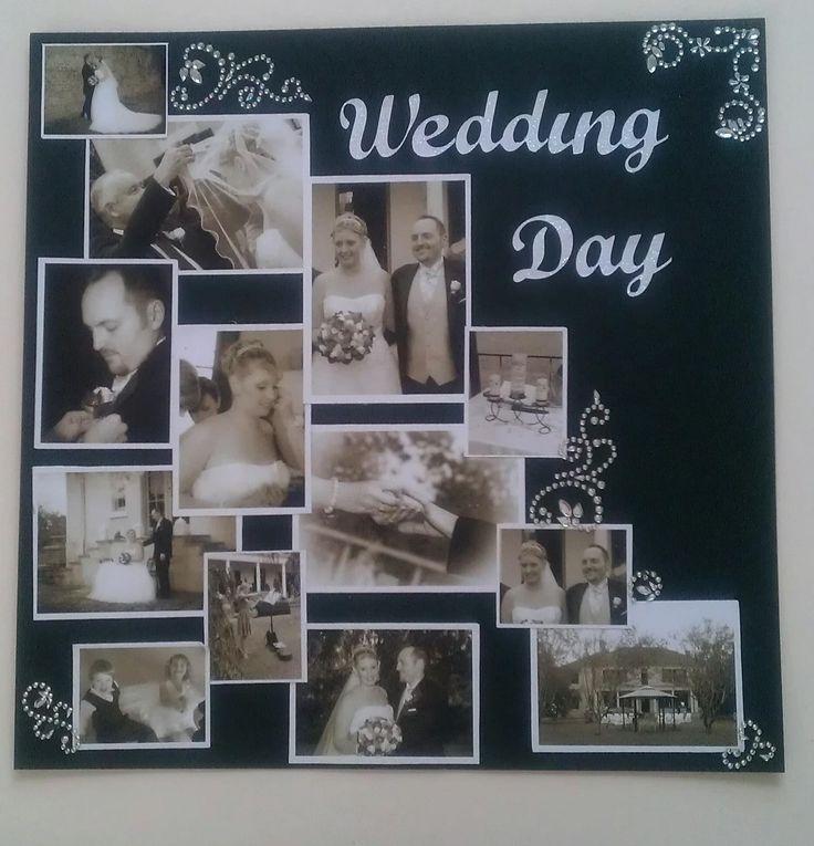 Wedding scrapbook layout :-)