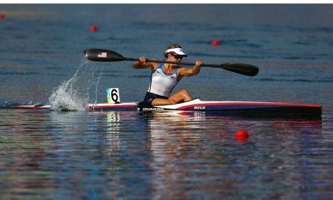 Olympians train along the Oklahoma City Boathouse District's section of the Oklahoma River. Catch a rowing, canoeing or kayaking competition at the annual Oklahoma Regatta Festival.