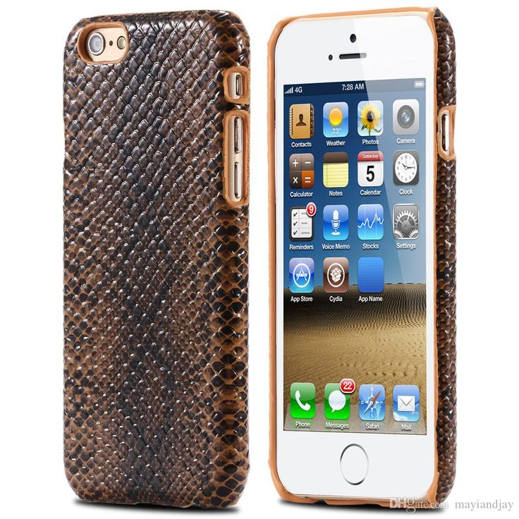 Custom Phone Cases Sexy Snake Pattern Fashion Slim Thin Luxury Pu Leather Case Hard Phone Back Cover For Iphone 6/6plus Samsung Galaxy S6/S6 Edge Top Rated Cell Phones From Mayiandjay, $2.35