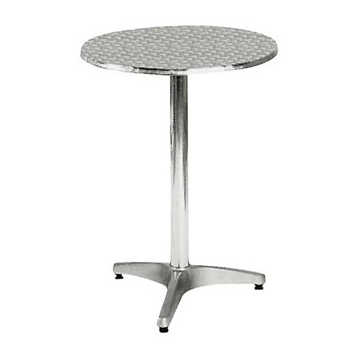 Palma garden food table aluminum D60x70 Ε284