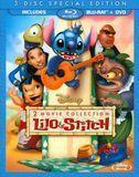 Lilo & Stitch/Lilo & Stitch 2: Stitch Has a Glitch [3 Discs] [Blu-ray/DVD]