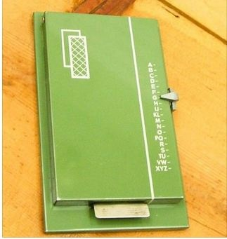 Remember when address books looked like this?