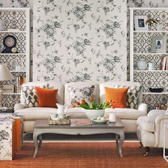 Die besten 25+ Orange wohnzimmermöbel Ideen auf Pinterest Orange - wandgestaltung wohnzimmer orange