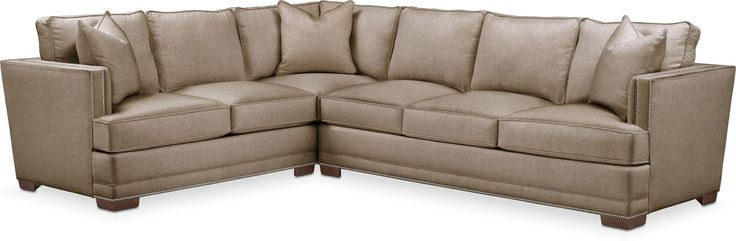 Arden 2 Pc. Sectional With Right Arm Facing Sofa- Comfort In Statley L Mondo