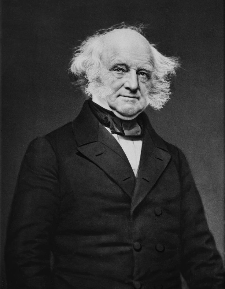 Martin Van Buren  8th President of the United States, 8th Vice President of the United States, 10th United States Secretary of State, and 9th Governor of New York