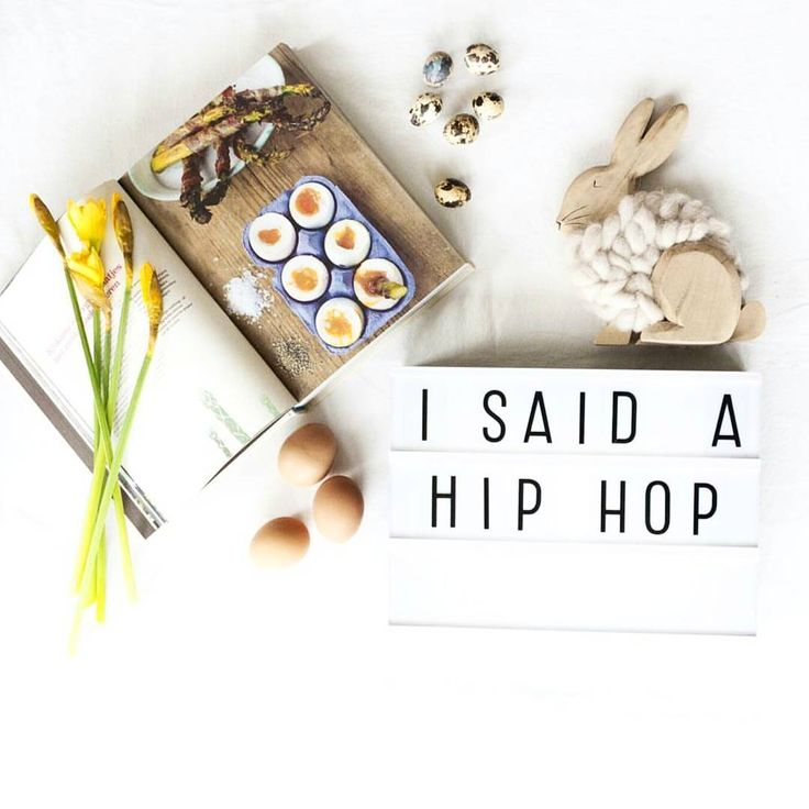 """"""" i said...a hip hop, the hippie the hippie to the hip hop and you don't stop """" LOVELY regram by @hippemamaenco #alittlelovelycompany #alittlelovelylightbox #lightbox #cinematiclightbox #eastercountdown #easter #homeinterior"""
