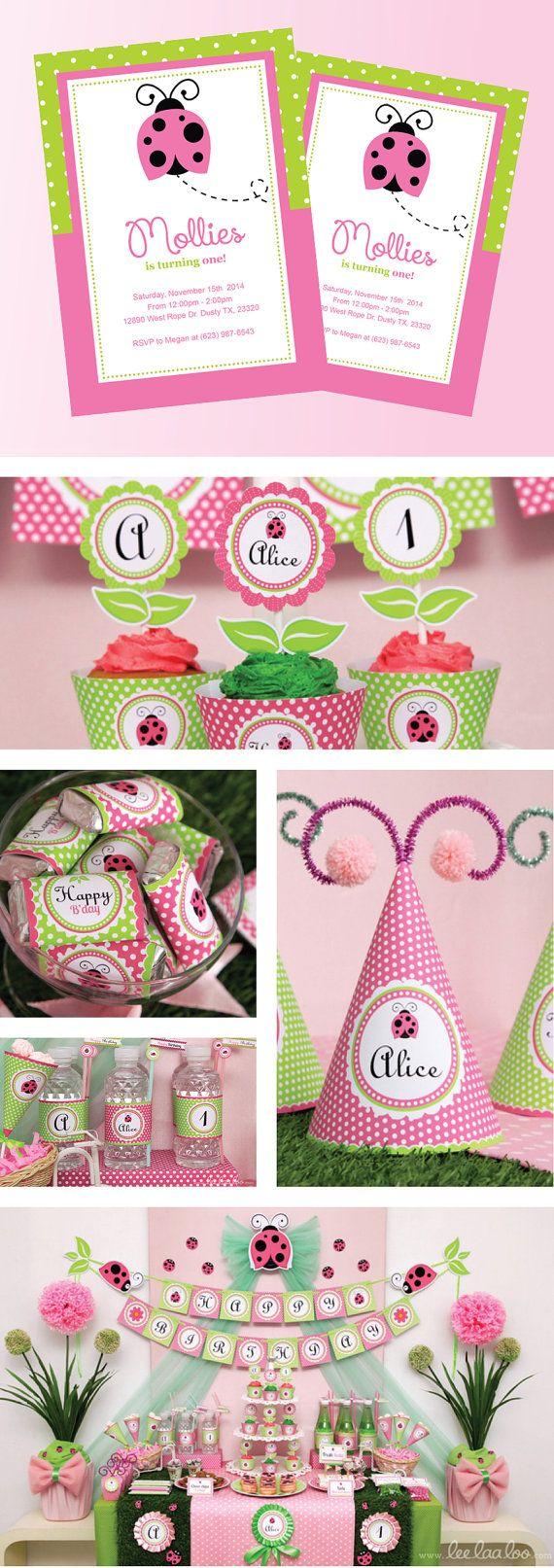 Best 25+ Pink ladybug birthday ideas on Pinterest | DIY ladybug ...