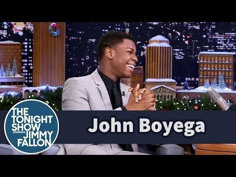 John Boyega's Friends Thought He Was a Star Wars Extra - YouTube