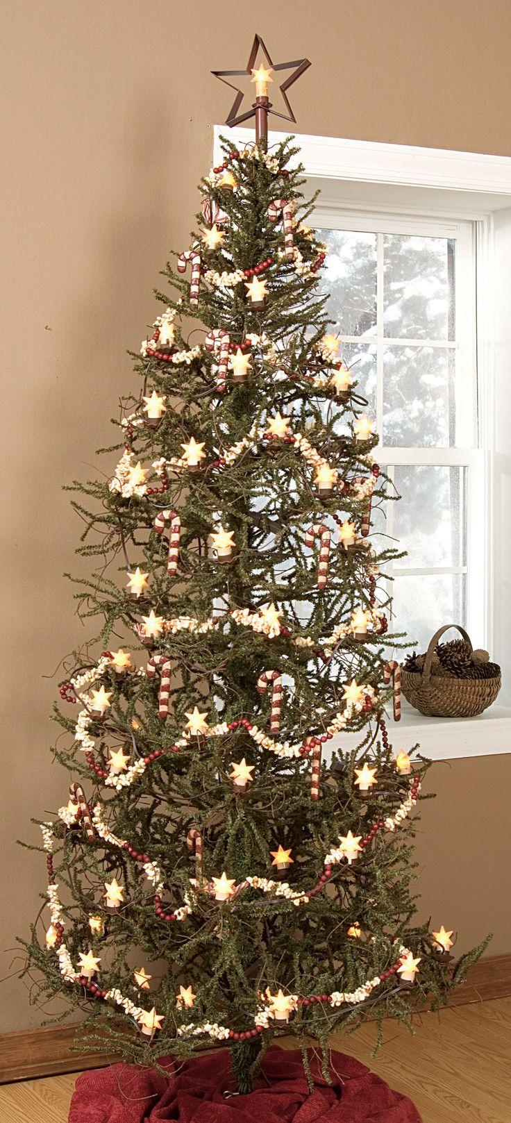 8 Slim Christmas Tree