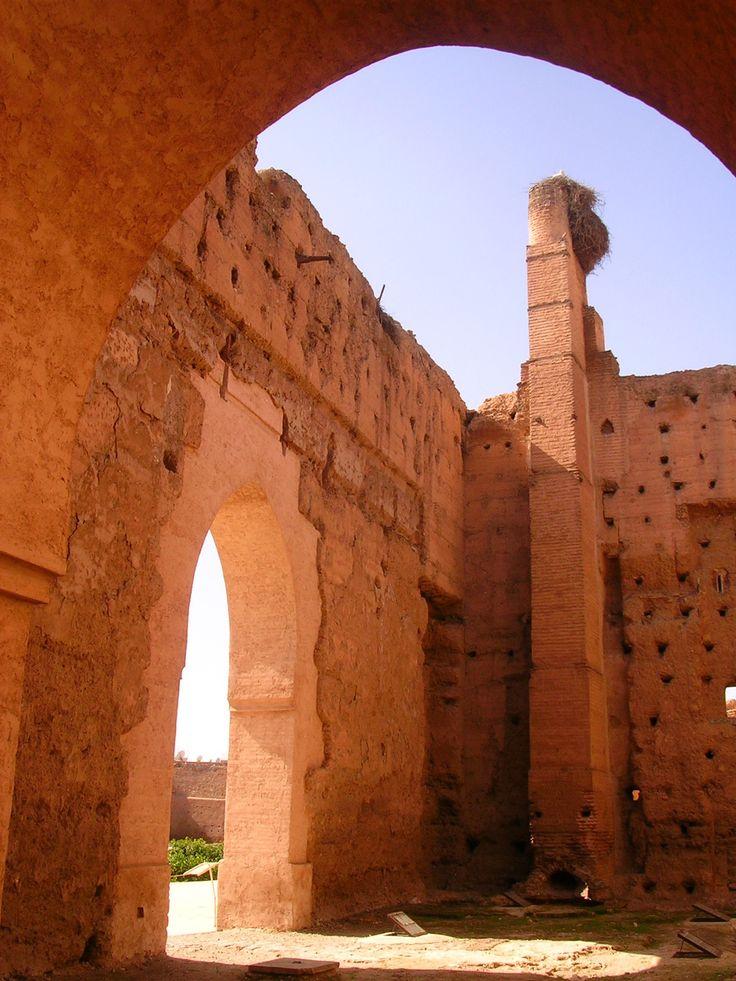 Palais El Badiî, Marrakech, Morocco