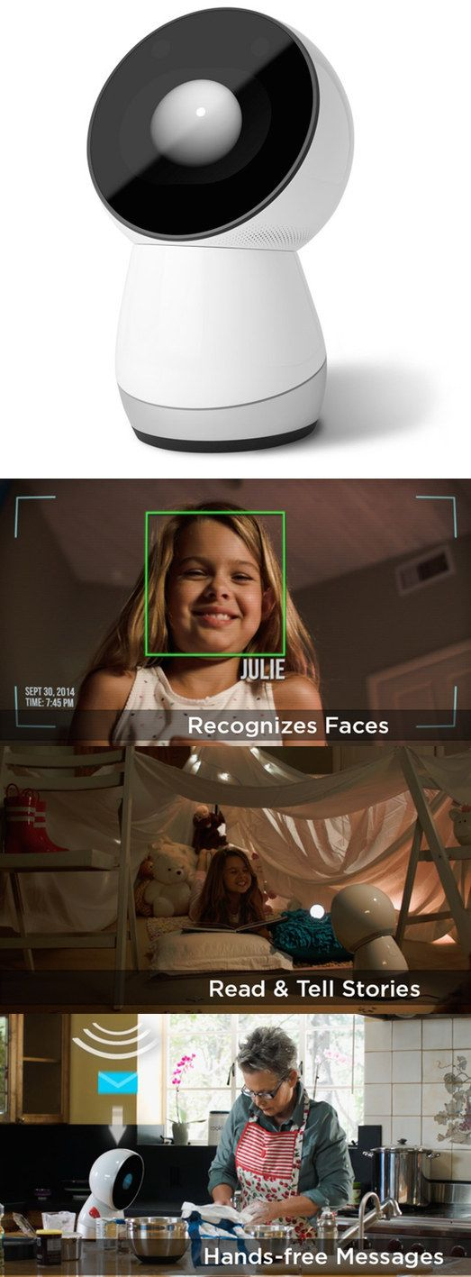 JIBO — The Family Robot   33 Insanely Clever Products That Came Out In 2014