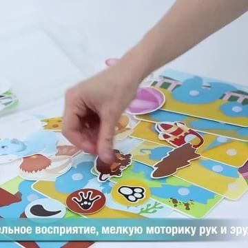 Velcro sticker puzzle sets.  A great learning toy for toddlers and preschool. By Pic'n'mix. Coming soon to Europe.