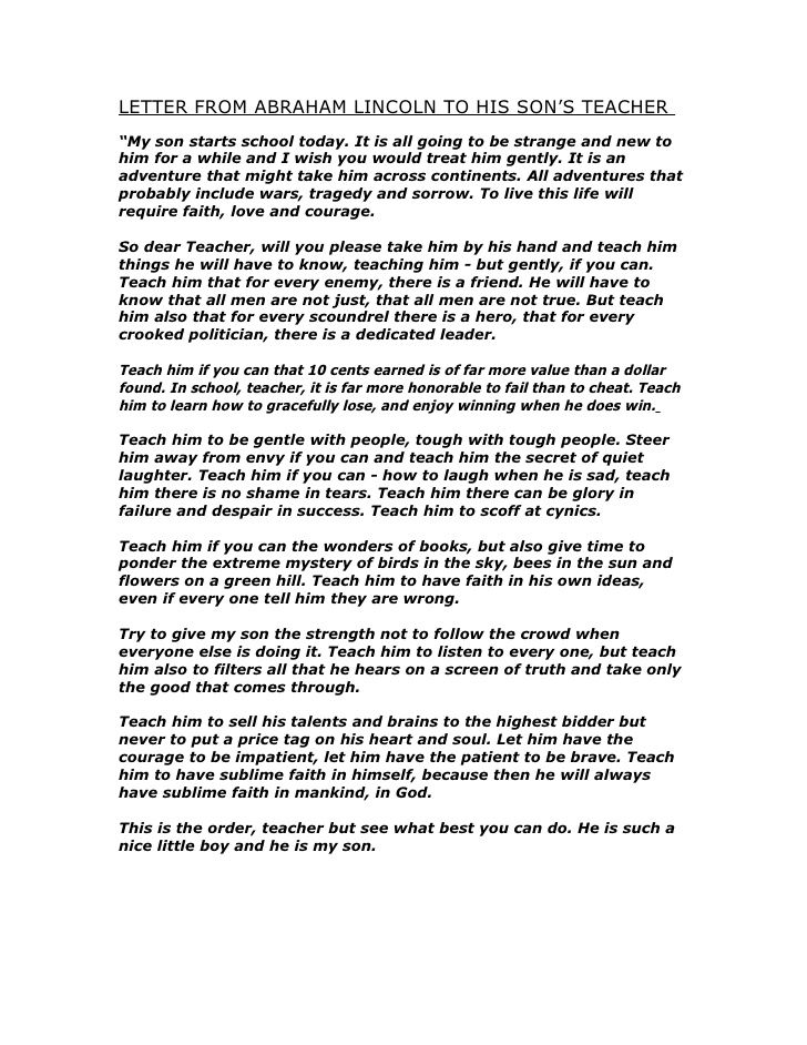 7 best First Day images on Pinterest Abraham lincoln, Letter and - good faith letter