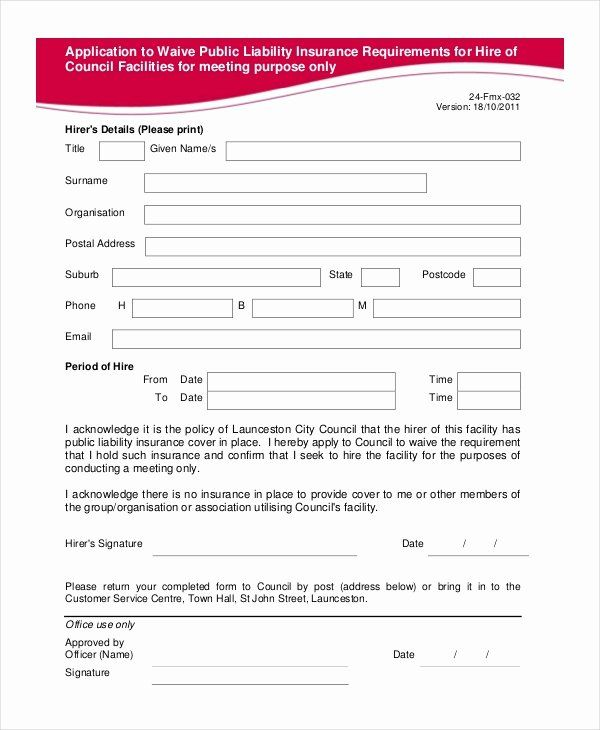 30 Sports Waiver Form Template In 2020 Liability Waiver