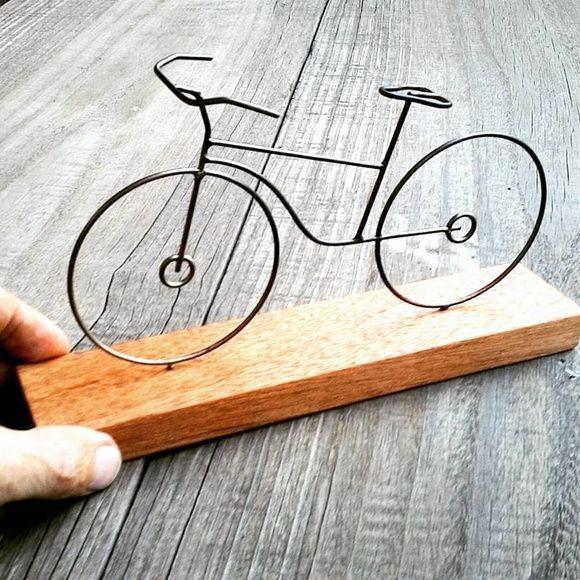 Bicicleta de arame