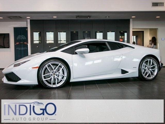 Nice Awesome 2016 Lamborghini LP610-4 Huracan Coupe 2016 Lamborghini LP610-4 Huracan Coupe 4321 Miles Bianco Monocerus 2D Coupe 602h 2017-18