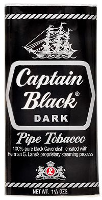 Captain Black Pipe tobacco...reminds me of someone I used to know. :)
