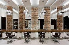 HAIRDRESSER! Aguavida hair & beauty by Pedra Silva Arquitectos, Brighton store design