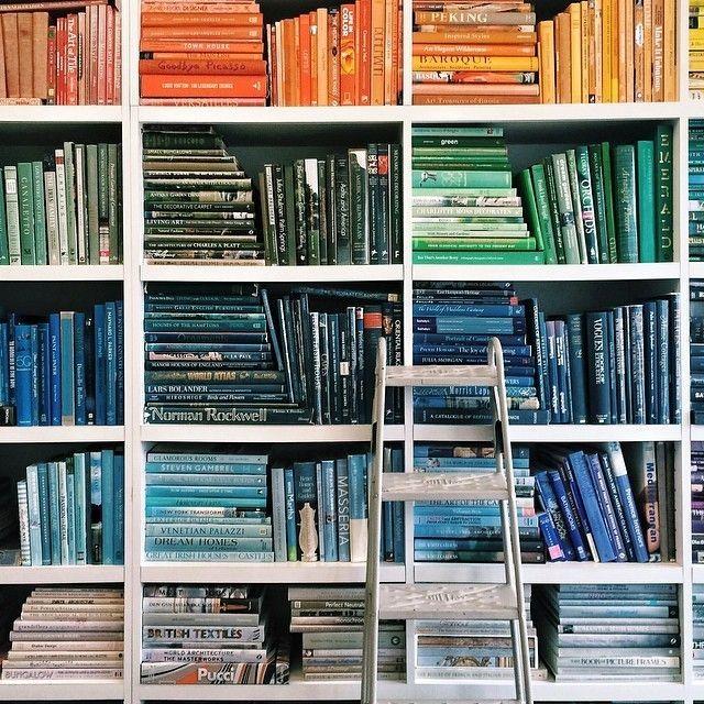 book books bookshelf colours-#33