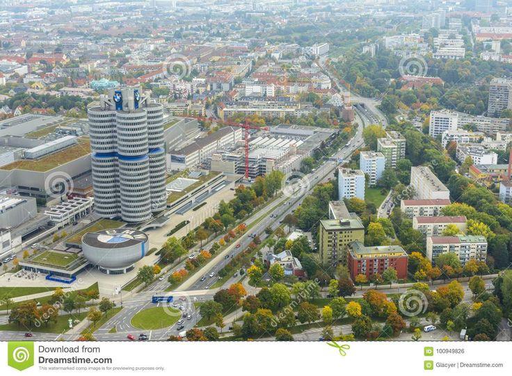 Munich Cityscape Editorial Photo - Image: 100949826