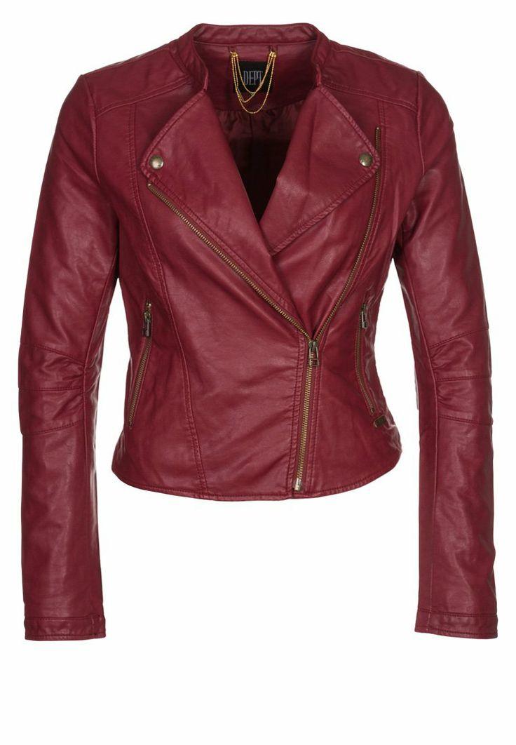 Dept rode leren jasje