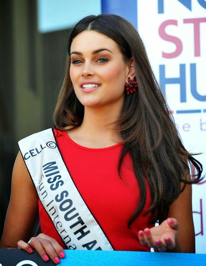 Rolene Strauss - Miss World 2014