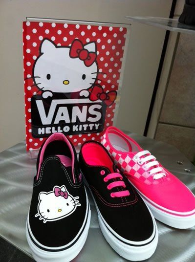 hello kitty vans shoes