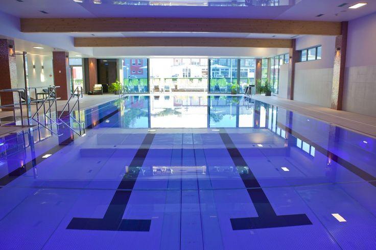 Plávanie - plavecký bazén so 4 dráhami - Hotel Tenis
