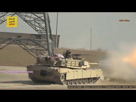 Guerra contra o ISIS no Iraque - Ofensiva de Mosul (+18) 20 a 25 de feve...