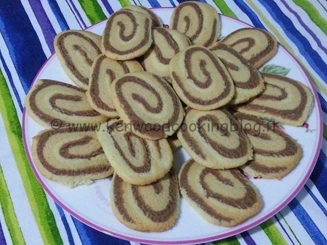 Biscotti caffè cioccolato vaniglia con Kenwood