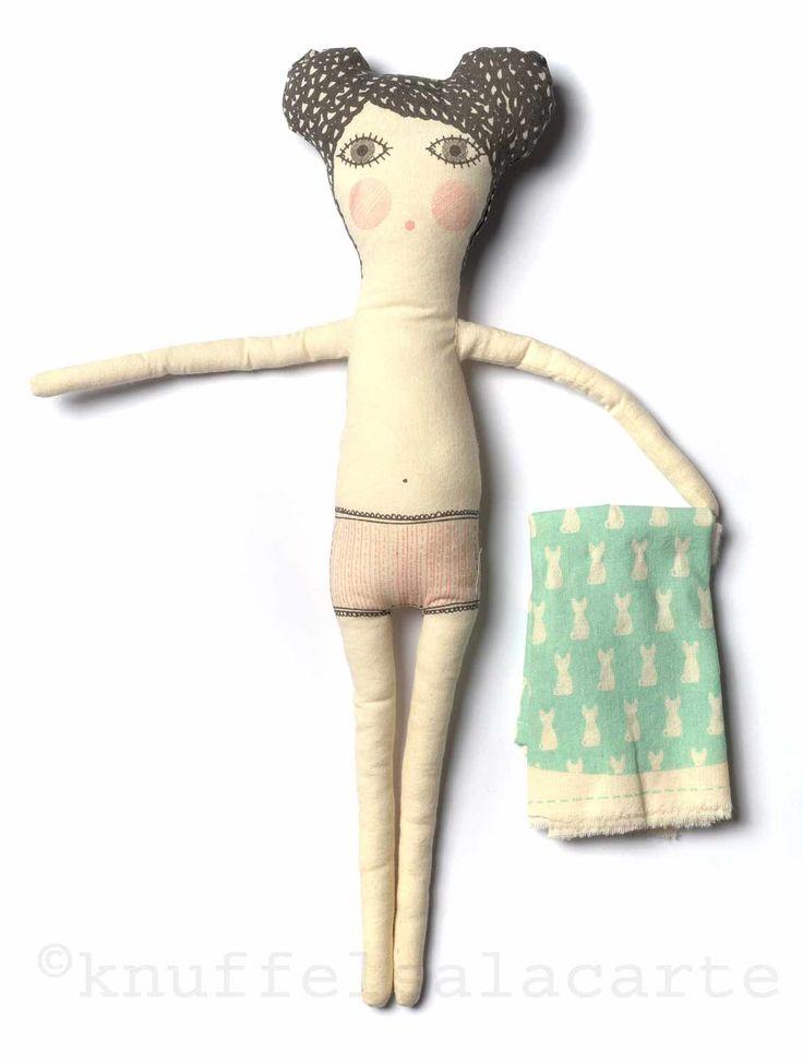 Severina Kids doll by Knuffels a la Carte