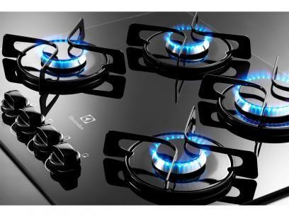 Cooktop 4 Bocas Electrolux GC60V à Gás - Acendimento Superautomático com as melhores condições você encontra no Magazine Jdamasio. Confira!