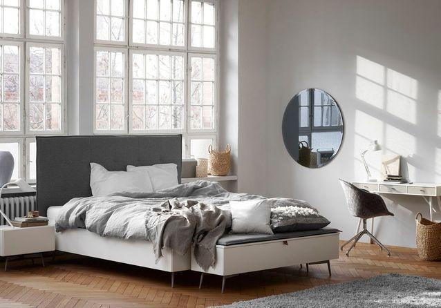 40 Idees Deco Pour La Chambre Elle Decoration Avec Images Idee Deco Chambre Bout De Lit Deco Chambre