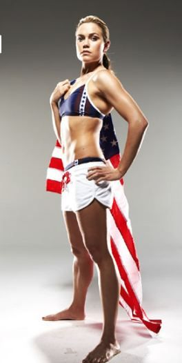 Natalie Coughlin, gorgeous Olympic swimmer.