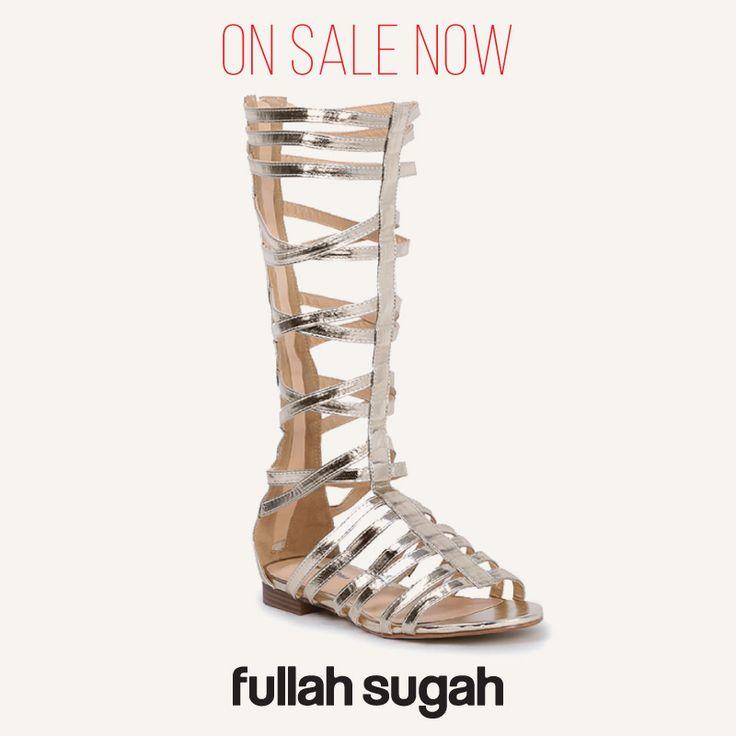 On Sale Now! Fullah Sugah Σανδάλι λουστρίνι μονομάχου   2346105917 #sales #style #trends #sandals #fashion