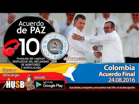 Acuerdo de Paz de Colombia en Audio Libro 10 Plebiscito 2016