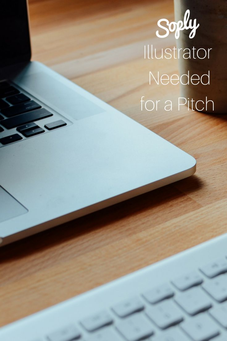 #Illustrator needed for a #pitch #presentation. See the #Illustration job and apply by clicking the pin!
