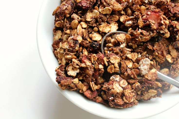 Strawberry Mocha Granola