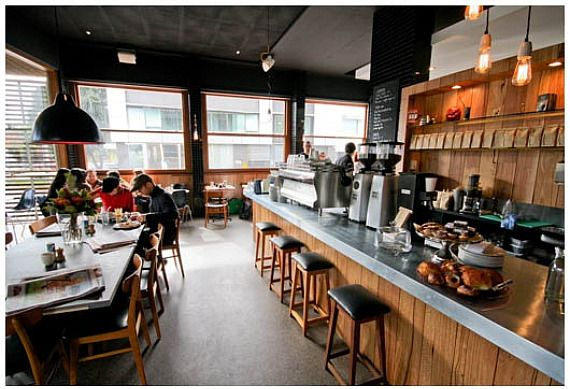 Dead Man Espresso - 35 Market Street, South Melbourne. Fantastic coffee, service and atmosphere, this is the perfect venue to visit in between a busy shopping trip to the bustling South Melbourne Market. You won't be disappointed!