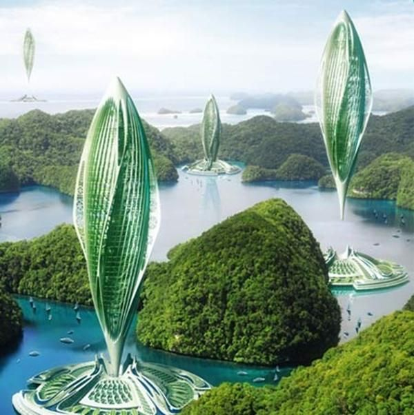 25 Fantastic Architectural Designs for Green Living in Floating Cities