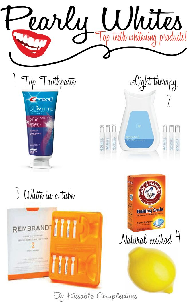 The best teeth whitening products kissablecomplexions.com